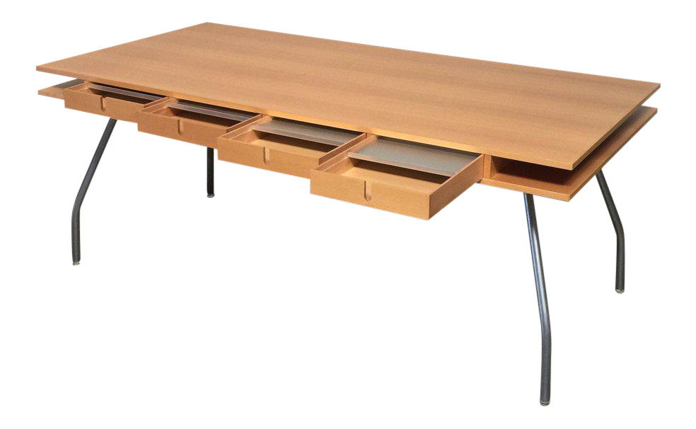High Quality Dordoni Beech Wood Worktop Table For Design Within Reach