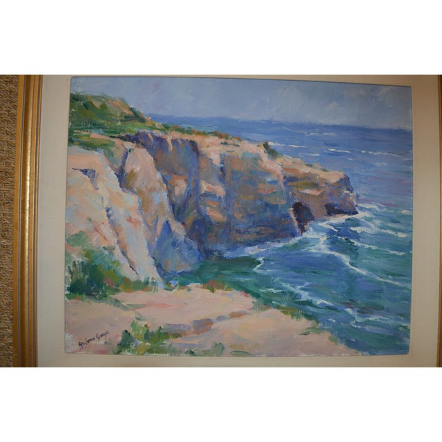 La Jolla Oil Painting - Image 4 of 4