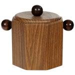 Image of 1960's Wood-Grain Ice Bucket