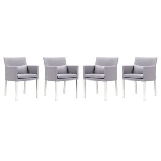 Lisbon Outdoor Dining Chairs - Set of 4