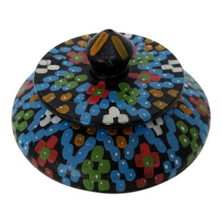 Ceramic Lidded Trinket Bowl