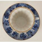Image of Lomonosov Blue & Gold Porcelain Cup & Saucer