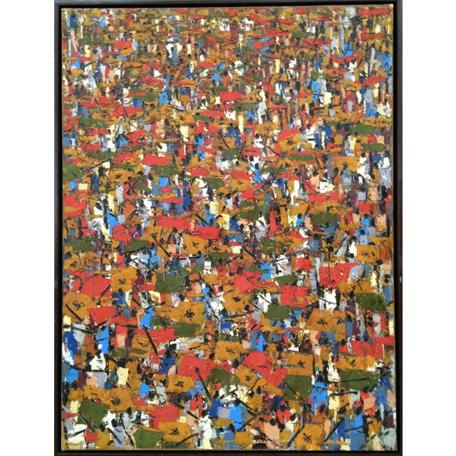 Image of Jubilation by Ablade Glover Abstract Oil Painting