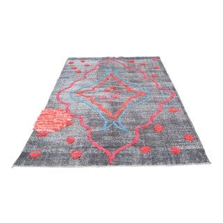 Turkish Handmade Floor Pompom Rug - 5′7″ × 9′3″