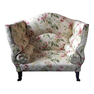 Floral High Backed Love Seat