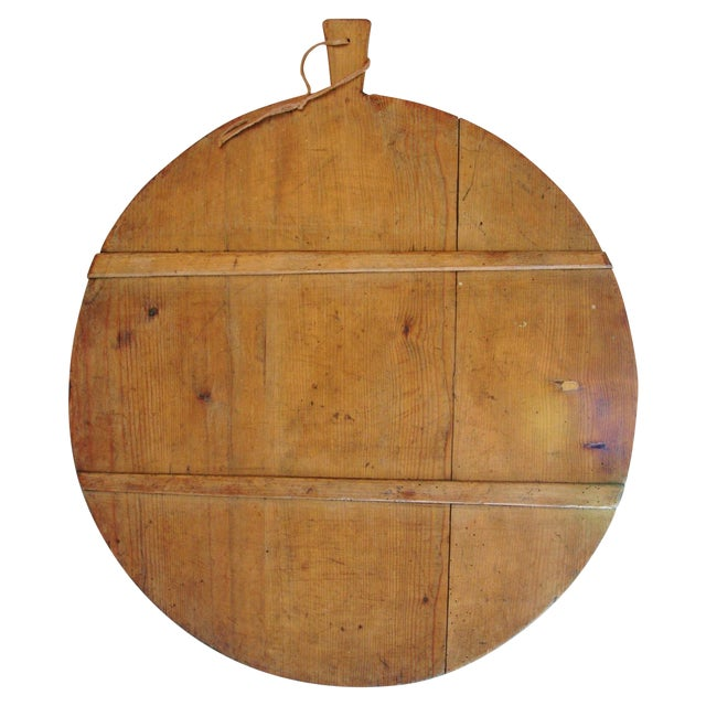 1920s French Harvest Cheese Board - Image 1 of 10