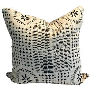 Vintage African Stella #4 Mud Cloth Pillow