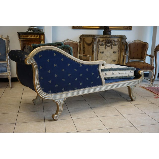 Vintage Hand Carved Chaise Lounge - Image 10 of 11