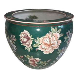 East Asian Style Floral Jardiniere