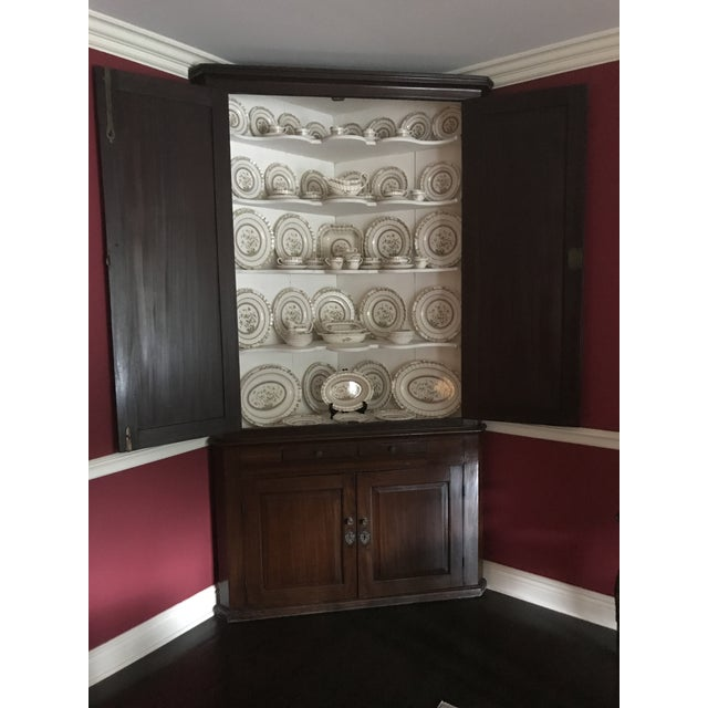 Antique Wood Corner Cabinet - *Great Price Must Sell - Image 3 of 10