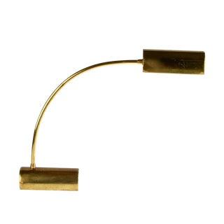 Italian Brass Swing Desk Lamp