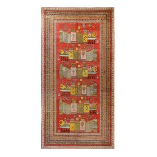 C1890 Antique Khotan Rug - 9′2″ × 17′