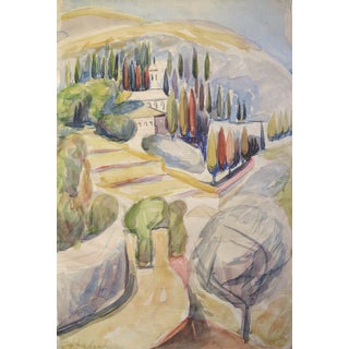 Miriam Hadgadya Mediterranean Villa Painting