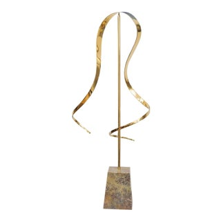 Polished Brass Kinetic Sculpture
