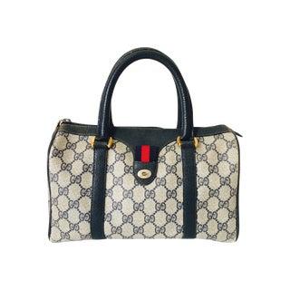 70's Gucci Monogram Speedy Doctor Bag
