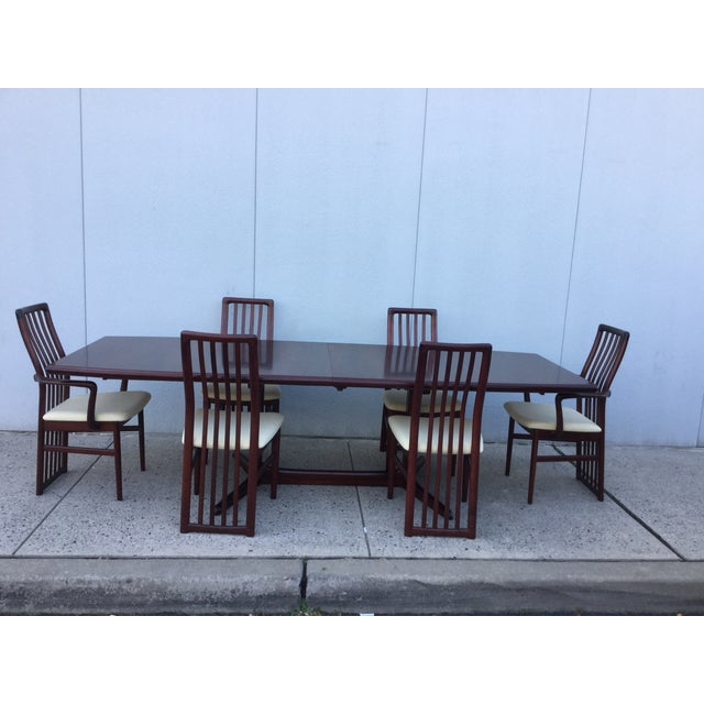 Danish Modern Dining Chairs - Set of 6 - Image 9 of 11