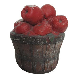 Antique Garden Apple Basket