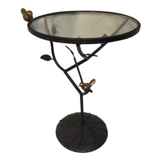 Round Birdie & Branch Table