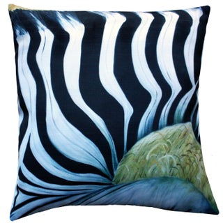 Forzani Zebra Throw Pillow 20x20