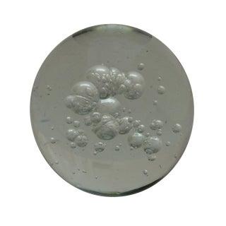 Mid-Century Spherical Art Glass Paperweight