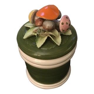 1970's Mushroom Cookie Jar