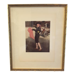 Manet Mlle Victorine Reproduction Print