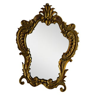 Antique Victorian Ornate Table Mirror