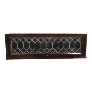 Vintage Mahogany Hale Barrister Shelf