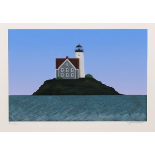 Theodore Jeremenko - Lighthouse I Silkscreen