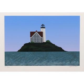 Theodore Jeremenko - Lighthouse I Silkscreen