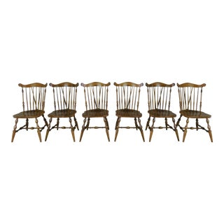 Temple Stuart Windsor Side Chairs - Set of 6