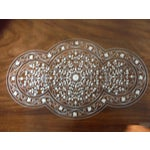 Image of Pakistani Inlayed Rosewood Coffee Table