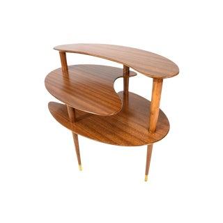 John Keal 3 Level Biomorphic Side Table