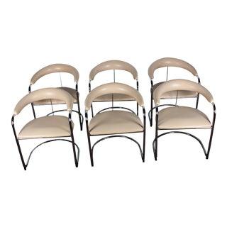 Thonet Mid-Century Armchairs by Anton Lorenz - Set of 6