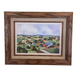 Farmland Painting by Jack Saum