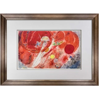 "Marc Chagall ""The Wedding"" Lithograph"