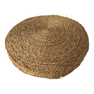 Round Rattan Cushion