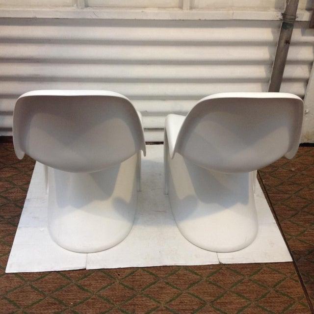 Verner panton stuhl chairs a pair chairish - Panton stuhl original ...