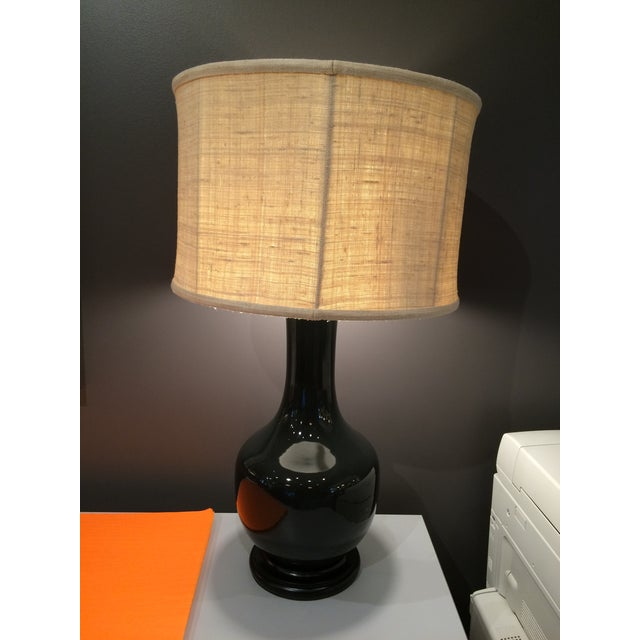 Barbara Cosgrove Gray Table Lamps - A Pair - Image 2 of 6