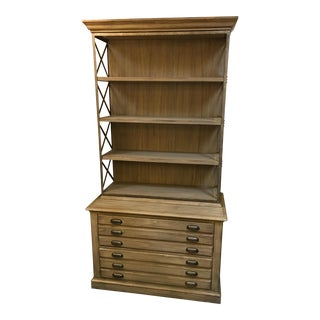 Sligh Two Drawer Cabinet and Shelves