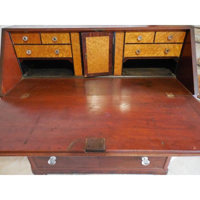 Signed Pennsylvania 1836 Cherry Slant Front Desk - Image 3 of 11