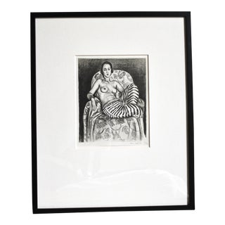 Matisse Odalisque Repoduction Lithograph Print