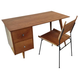 Paul McCobb for Planner Group Maple Desk & Chair