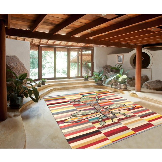 "Pasargad Modern Lamb's Wool Area Rug - 8'4"" X 9'9"" - Image 3 of 3"