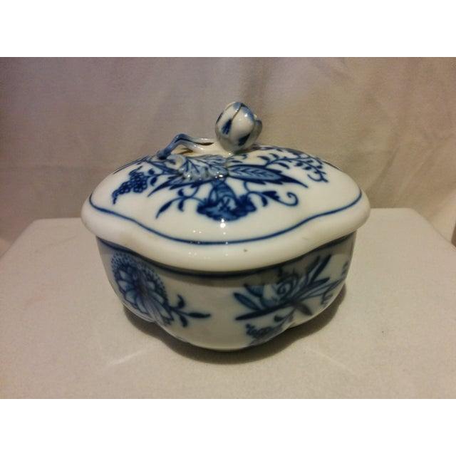 Meissen Blue Onion Cream & Sugar Set - Image 8 of 10