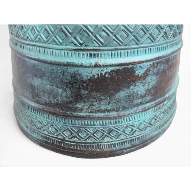 Copper Rain Drum Table - Image 4 of 5
