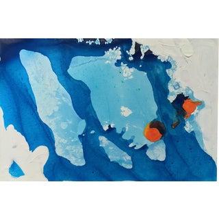 Matthew Izzo Ice Caps Acrylic Painting