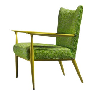 Paul McCobb for Directional Lounge Chair Exceptional Colors, USA, 1950s