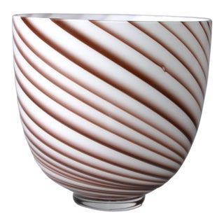 Original Tommaso Barbi Italian Murano Decorative Bowl / Vase