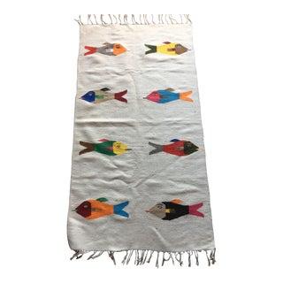 Native American Flatweave Rug - 2′5″ × 4′7″